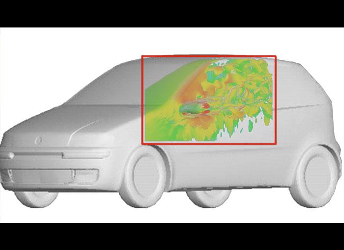 Wing Mirror Aeroacoustics Metacomp - CFD Technologies