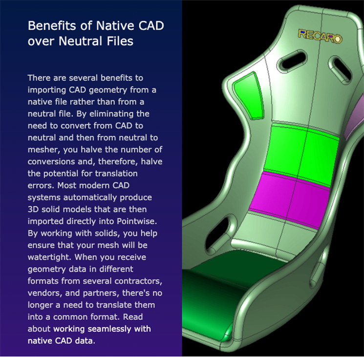 Benefits of Native CAD